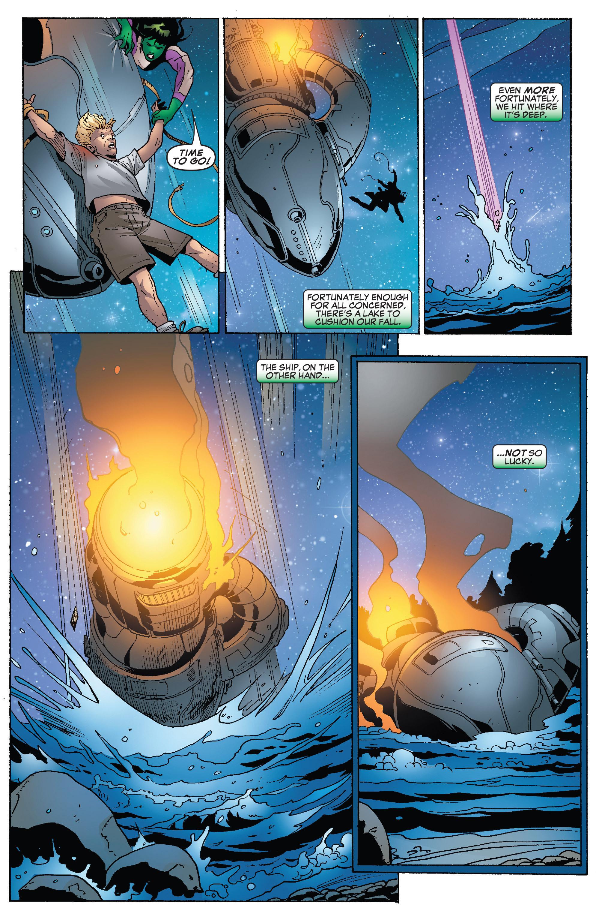 Read online She-Hulk (2005) comic -  Issue #26 - 20
