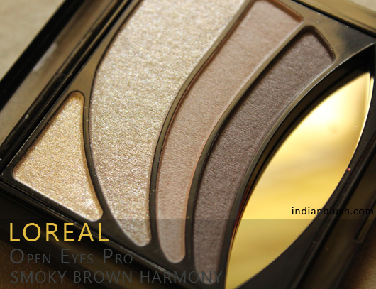 L'Oreal Open Eyes Pro Eyeshadow in 08 Smoky Brown