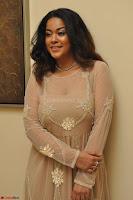 Mumaith Khan in Beig Skin Colored Anarkali Dress at Kalamandir Foundation 7th anniversary Celebrations ~  Actress Galleries 029.JPG