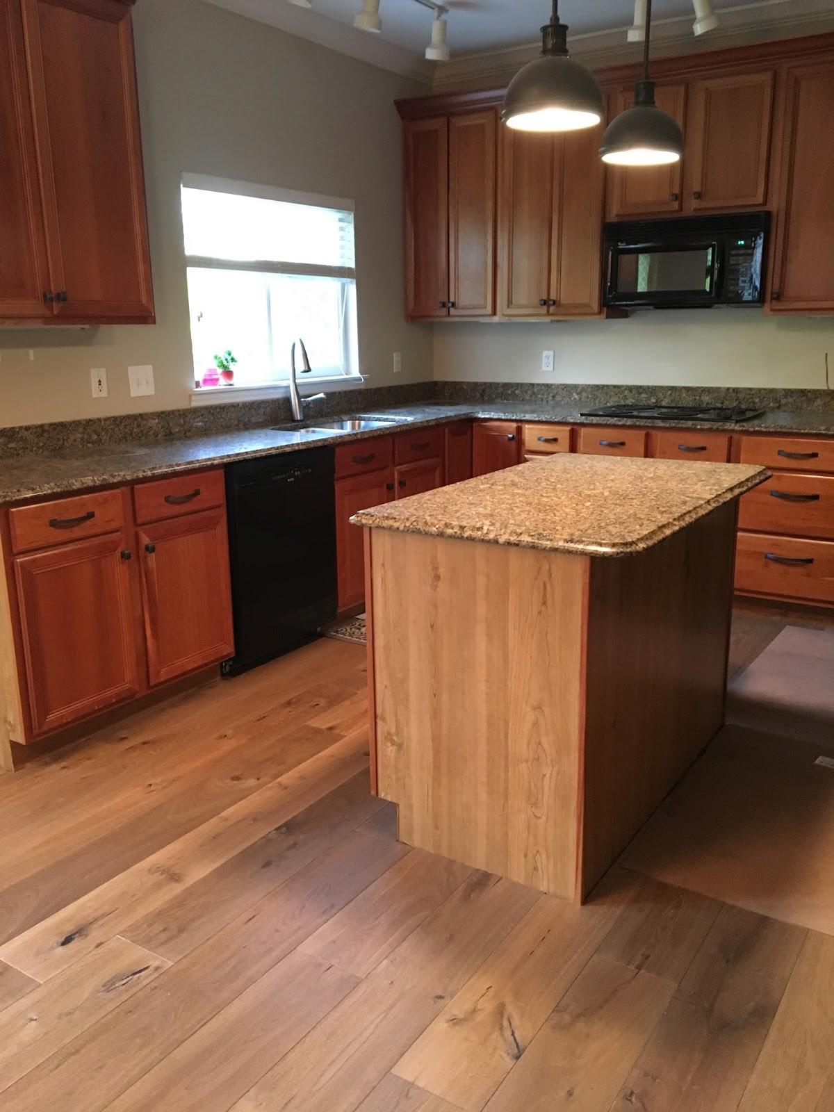 Full Height Granite Backsplash Kitchen