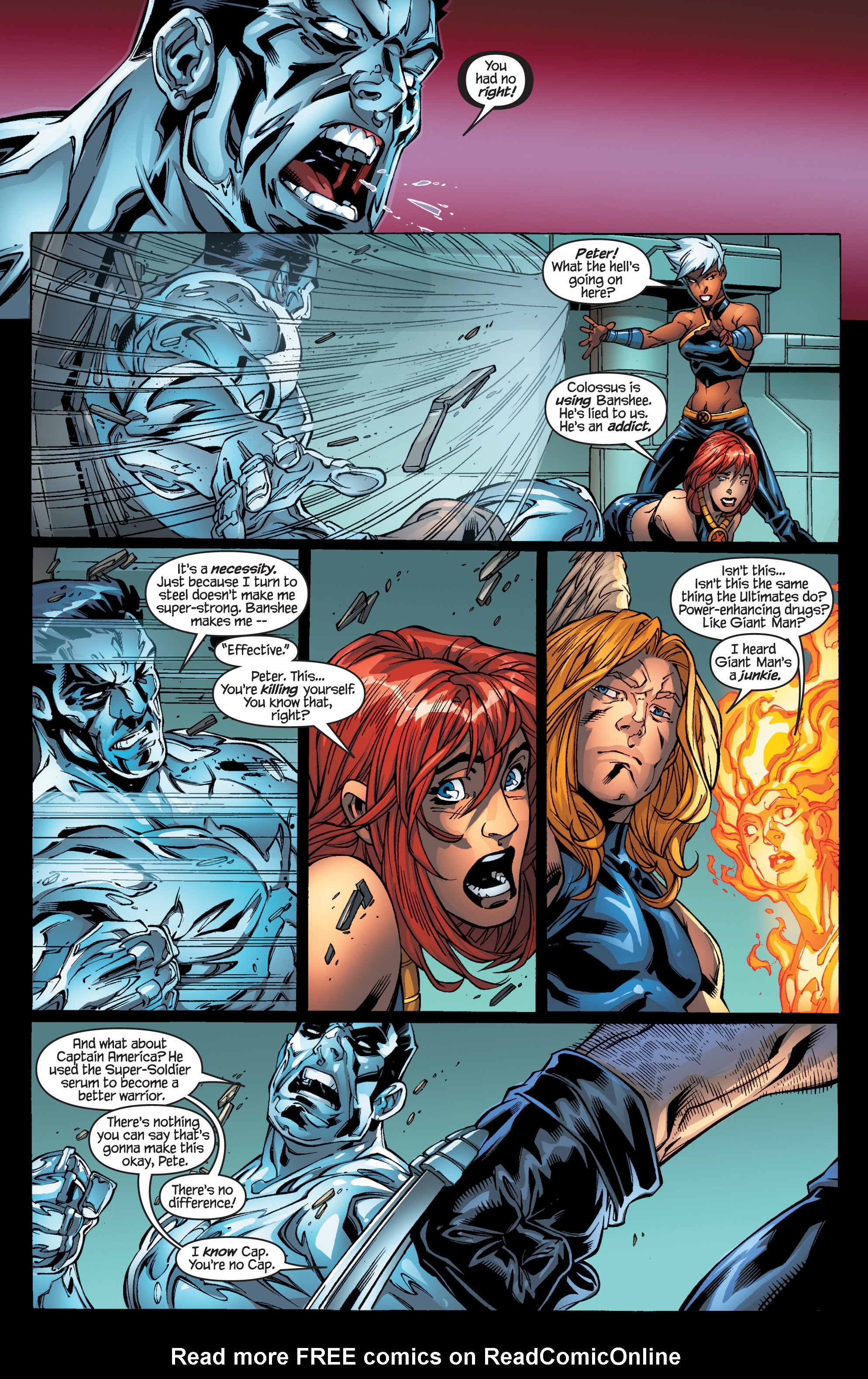 Read online Ultimate X-Men comic -  Issue #94 - 20
