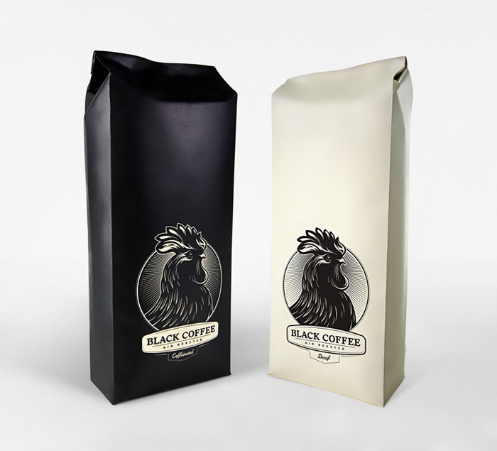 Optical Bliss Coffee Packaging