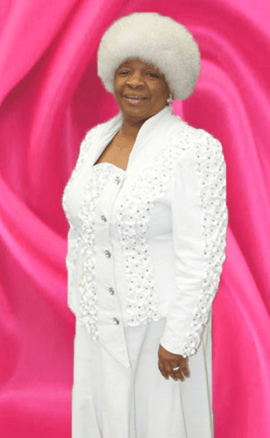 Lady Peggy Moales. Cathedral of The Holy Spirit