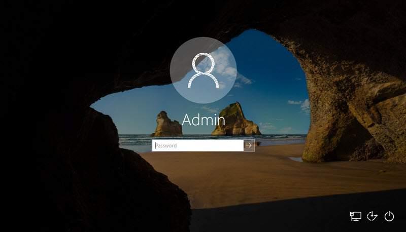 Sử dụng tùy chọn các dòng lệnh command quản lý tài khoản trong Windows
