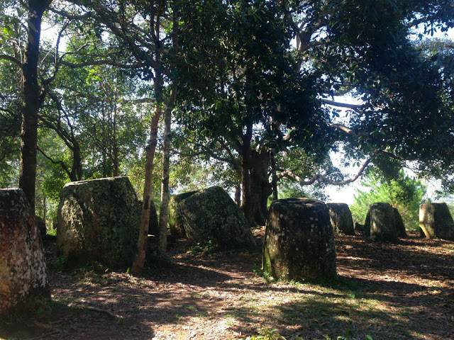 The Plain of Jars in Phonsavan