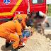 Homem fica ferido depois de perder controle de ciclomotor em trecho da duplicação da AL-145