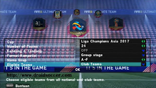 Texture PES Jv3 Mod FIFA 18 with 26 Team Asia