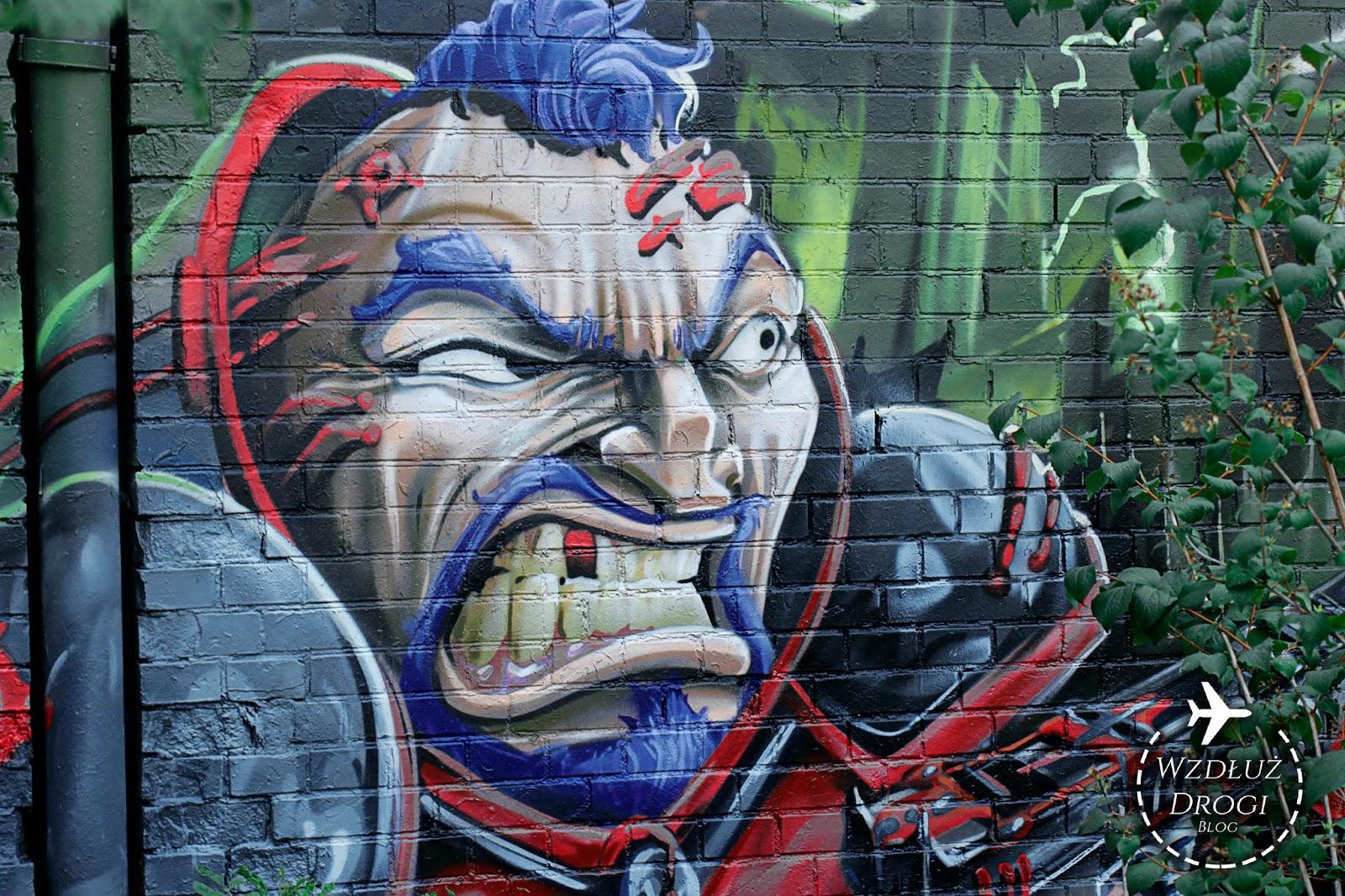mural, street art, christiania