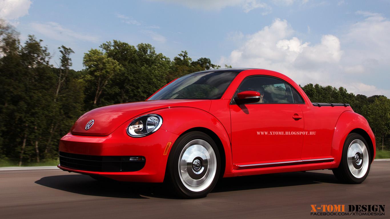 X Tomi Design Volkswagen Beetle Pickup