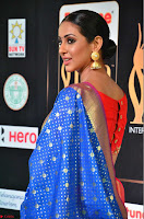 Priya Shree in Beautiful Blue Saree at IIFA Utsavam Awards 2017  Day 2    HD Exclusive Pics 16.JPG