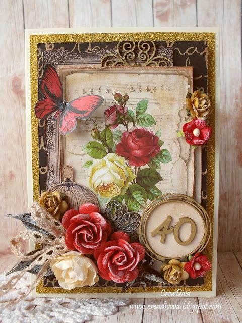 Różane urodziny / Rose Birthday