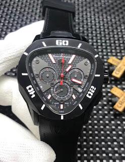 Jam Tangan Torino Lamborghini hitam