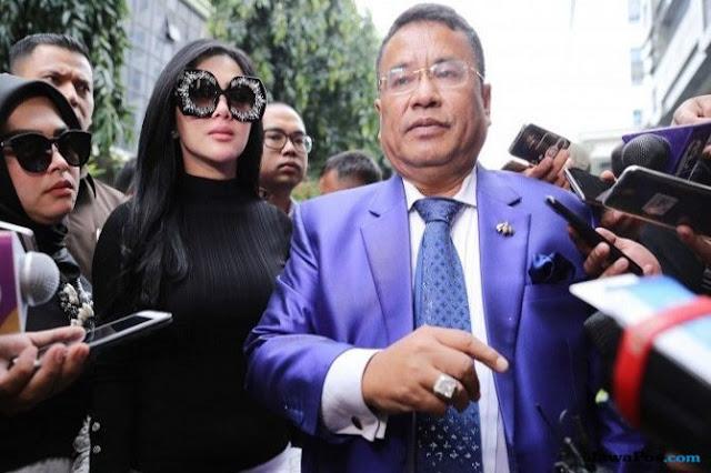 Syahrini Undang Hotman Paris Ke Resepsi Pernikahannya Di Jakarta