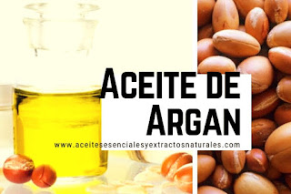 Aceite de argán, listado de aceites esenciales y esencias para Aromaterapia