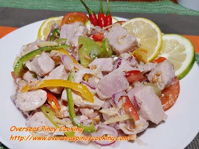 Kinilaw na Tuna