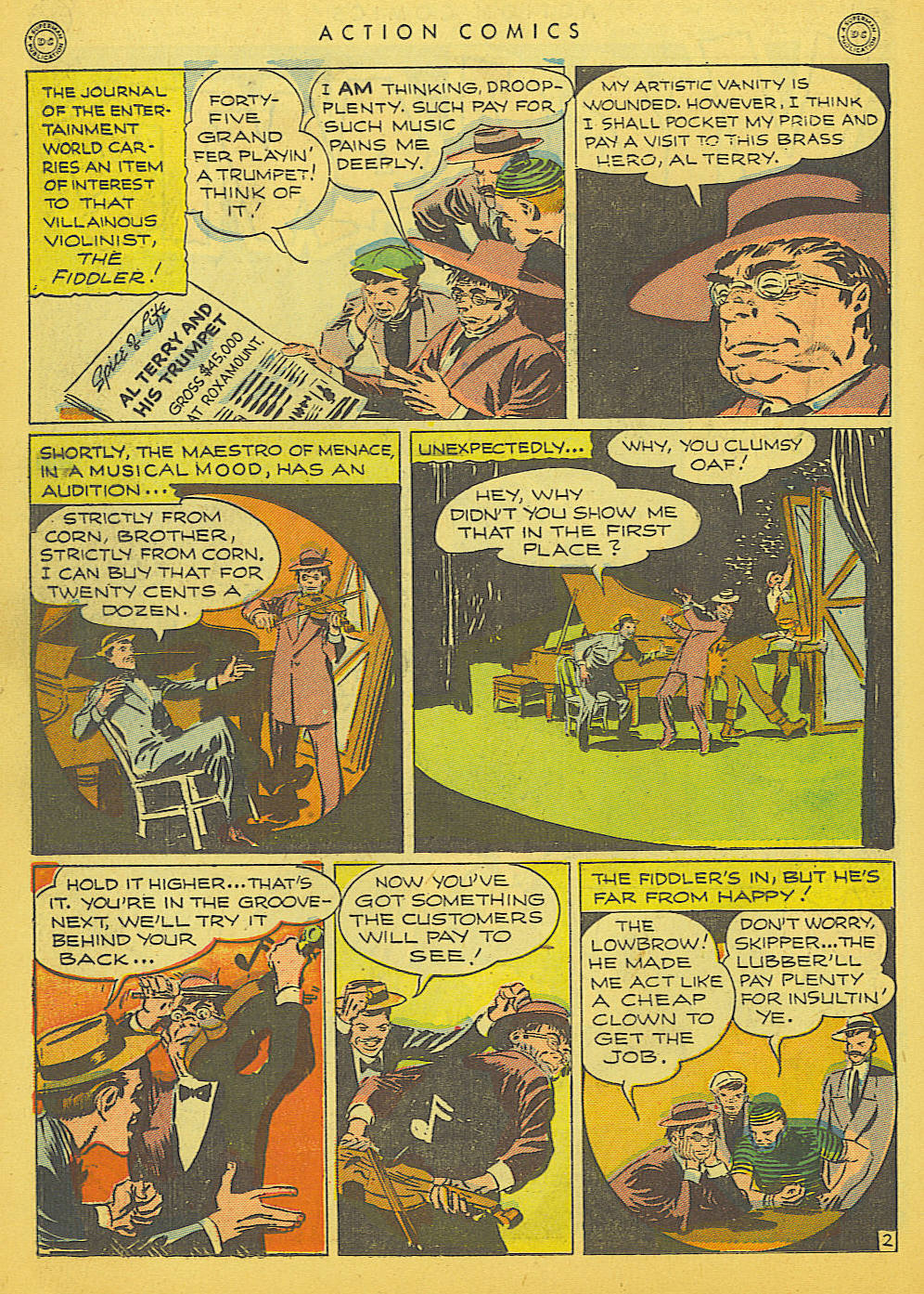 Read online Action Comics (1938) comic -  Issue #91 - 32