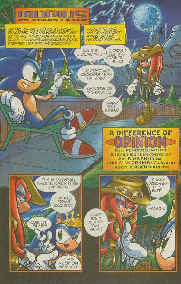 Read online Sonic The Hedgehog comic -  Issue #140 - 19