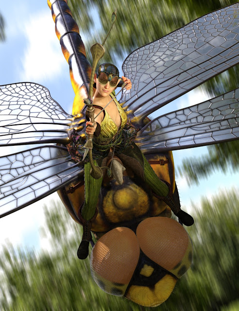 dForce Wing Ranger for Genesis 8 Female