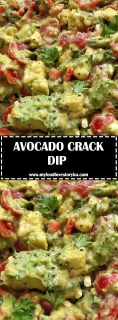 Avocado Crack Dip
