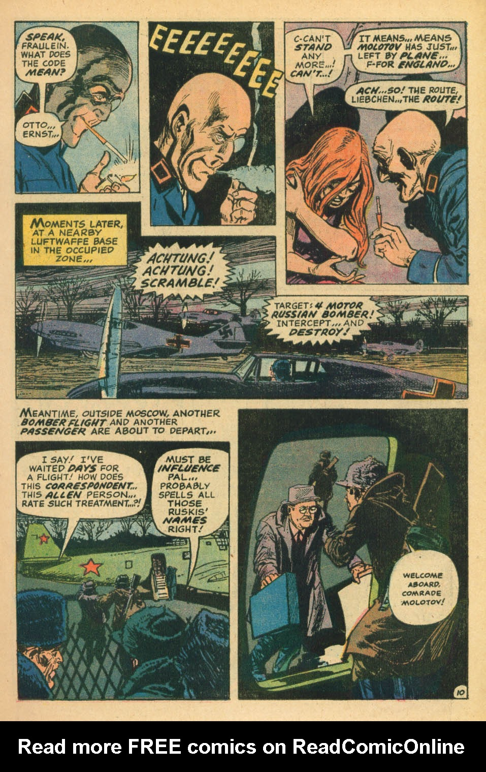 Read online Star Spangled War Stories (1952) comic -  Issue #172 - 10