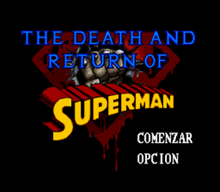 death return superman megadrive