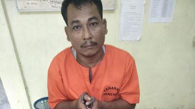 Pengedar Narkoba Warga Simpang Kanan di Tangkap Jajaran Polres Rohil