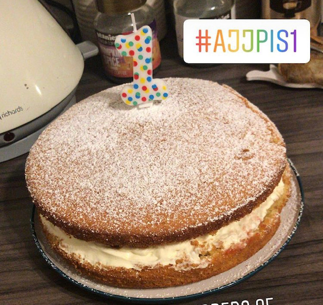 Recipe, Cake, Birthday, Victoria Sponge, Parent Bloggers, First Birthday