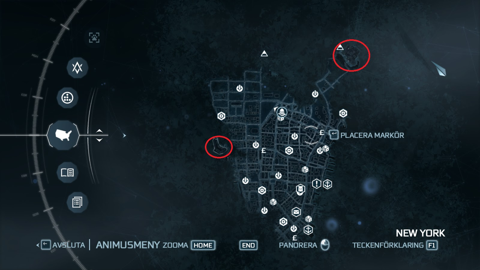 The Assasssins Creed Blog Templar Forts Locations Assassins Creed 3