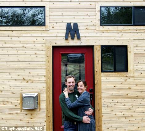 This Couple Got Out Of The Rat Race. And Built This Tiny Home For $33K.