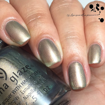 Nail polish swatch of Gone Glamping by China Glaze