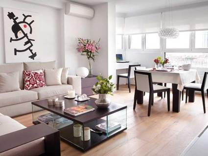 5 tips for integrating the living room and dining room 2