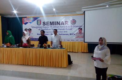 Guru TK se-Kabupaten Pringsewu Ikuti Seminar Pendidikan