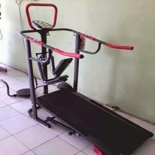 Treadmill Manual TL-003 dengan 5 Fungsi