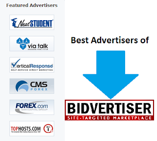 Premium advertisers of Bidvertisers