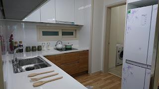 Bếp căn hộ Booyoung