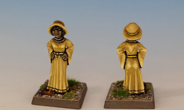 Painted Miniature for Marie Lambeau, Strange Remnants
