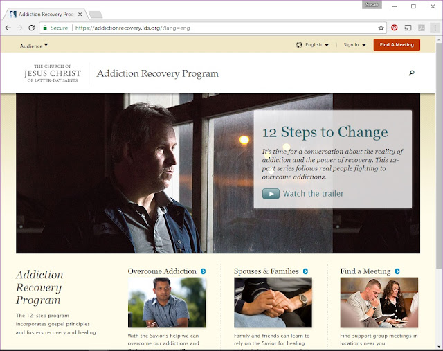 Link to the Addiction Recovery Program website