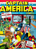 Captain America Timely comics