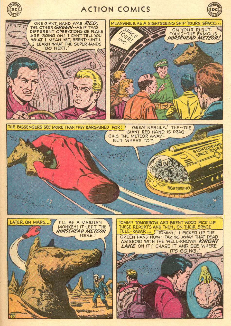 Read online Action Comics (1938) comic -  Issue #215 - 29