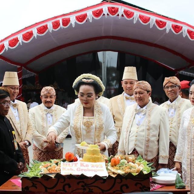 Rangkaian Upacara Peringatan Hari Jadi Grobogan Ke 293 Tahun 2019