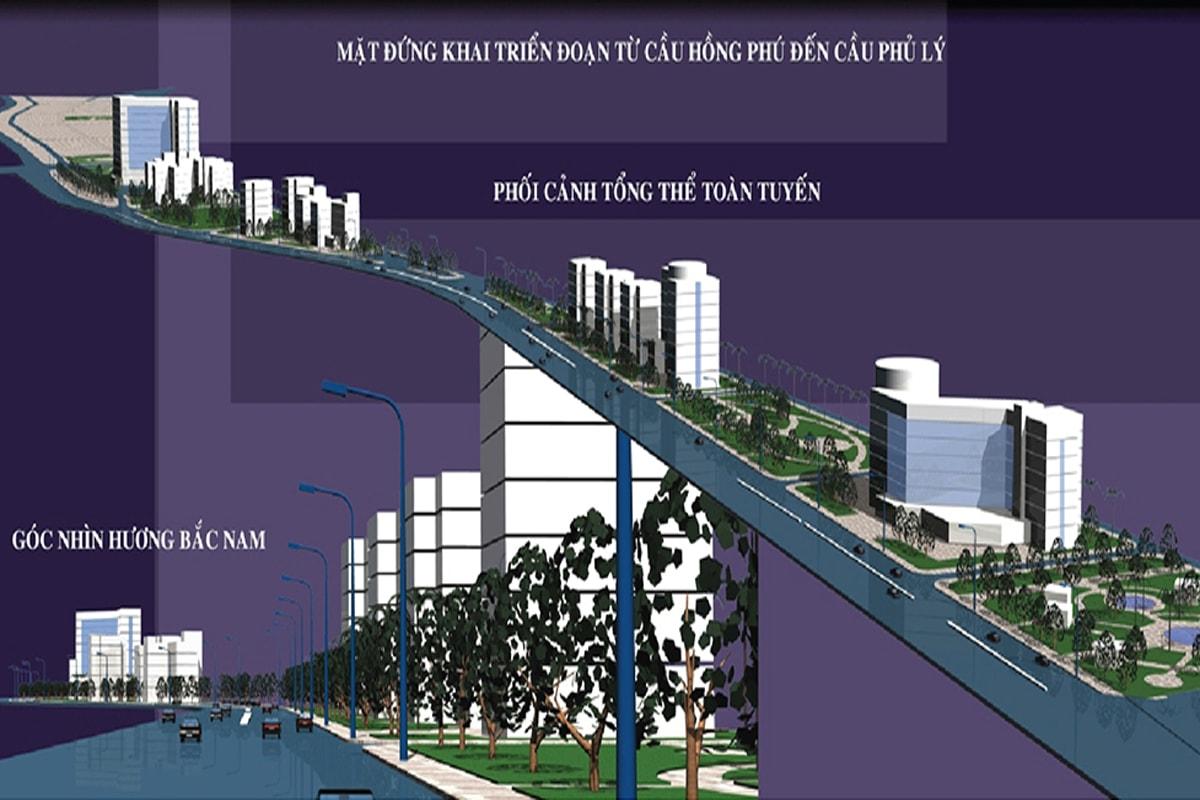 Tổ chức không gian dự án Tài Tâm Riverside