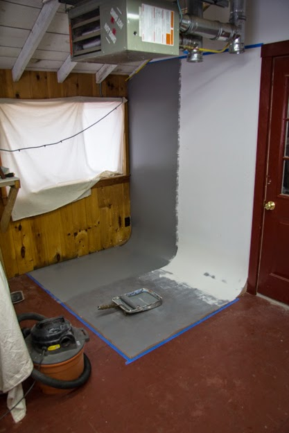 The Workbench Diary How To Build A Cyclorama Wall For