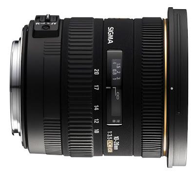 Sigma 10-20mm f/3.5 EX DC HSM nikon lens