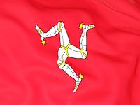 флаг острова Мэн