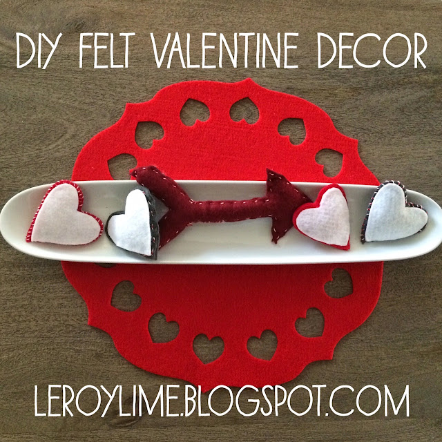 DIY Felt Valentine Decor