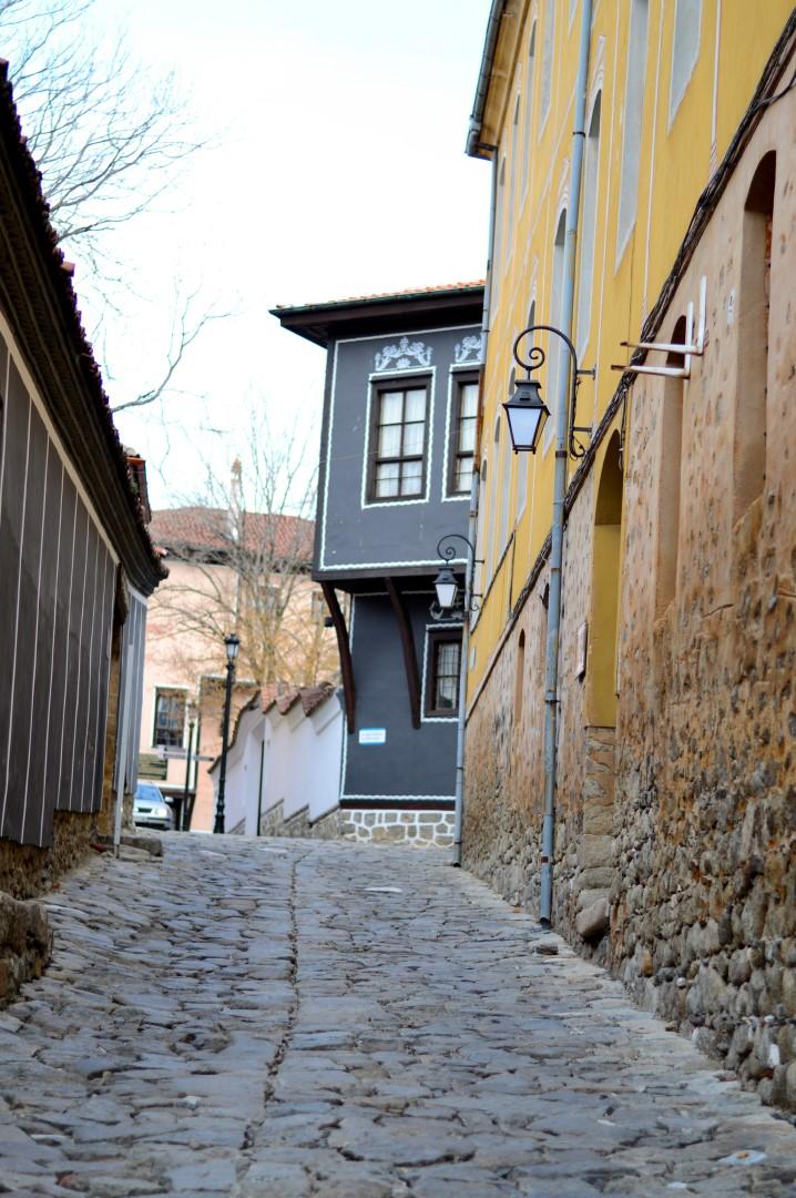 По улиците на стария Пловдив