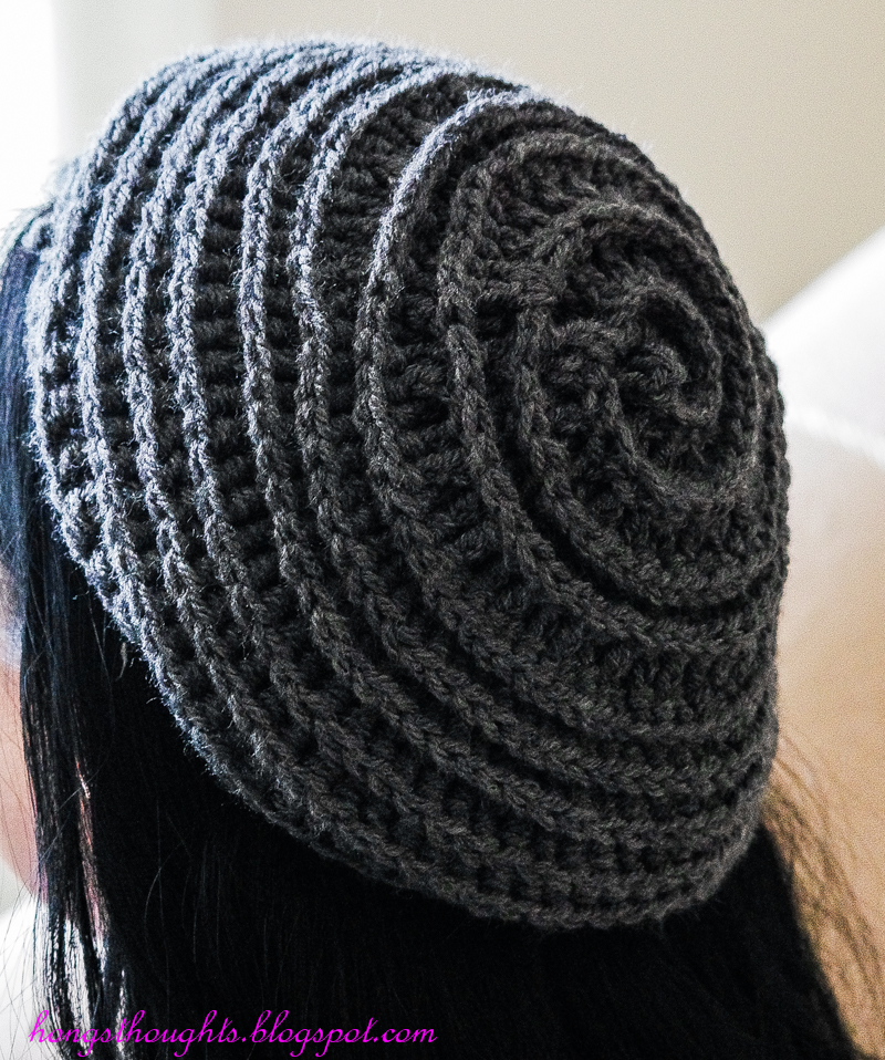 Hong s Thoughts  Crochet Spiral Hat! aec9e150629