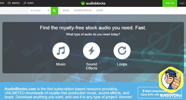 audioblocks free download music