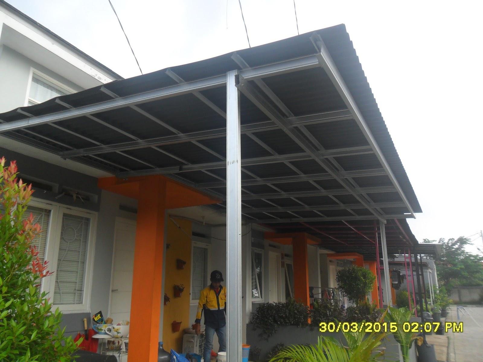 Kanopi Baja Ringan Tangerang Jasa Pembuatan 08118700799