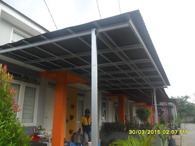Jasa Pasang Kanopi Baja Ringan Tangerang 08118700799